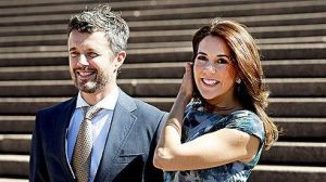 Danish royals, Prince Frederik and Princess Mary at Sydney Opera House, October 2013. Photo credit: Sydney Morning Herald