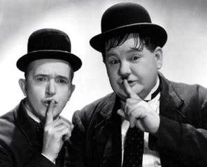Laurel-and-Hardy shh