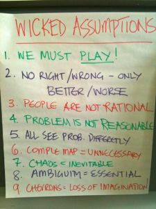whiteboard wicked assumptions