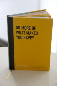 Happiness journal cover